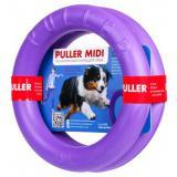 6488 PULLER Тренировочный снаряд для животных ПУЛЛЕР Миди, диаметр 20см, фиолетовый/9