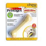 67340 Petstages игрушка для собак Chick-A-Bone косточка с ароматом курицы малая 11см *48 (73402)